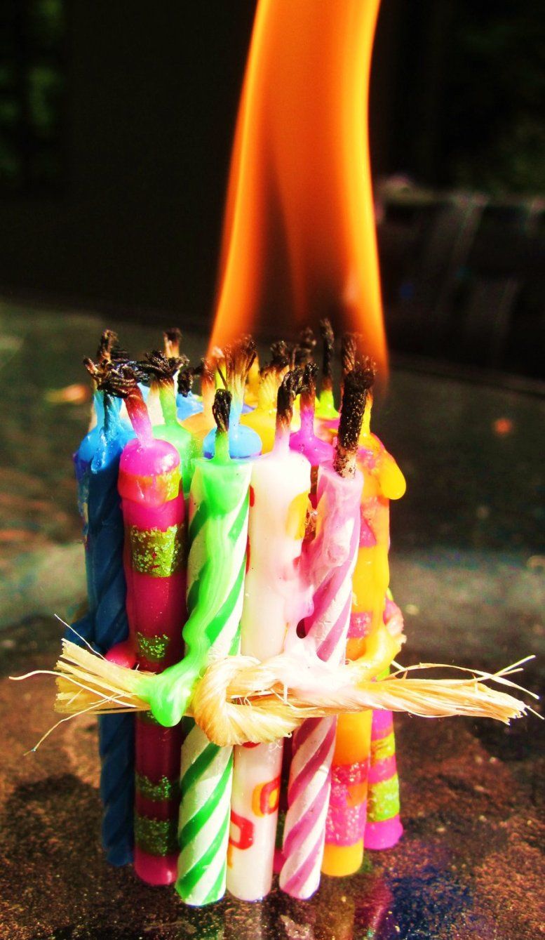One_big_birthday_candle_by_Tealcakery